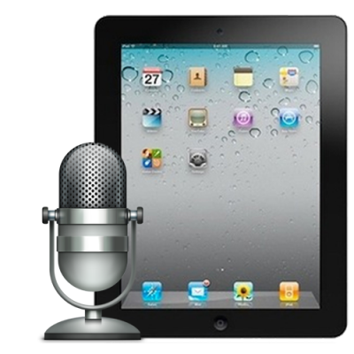 Замена микрофона iPad 2