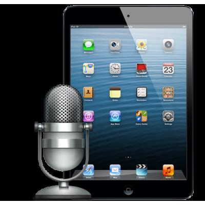 Замена микрофона iPad 4