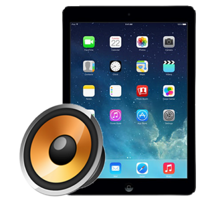 Ремонт слухового динамика iPad Air