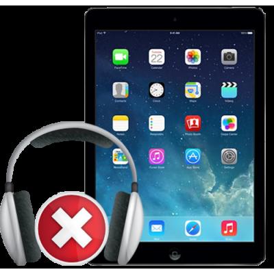 Замена разъема наушников iPad Air