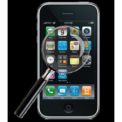 Диагностика iPhone 3G