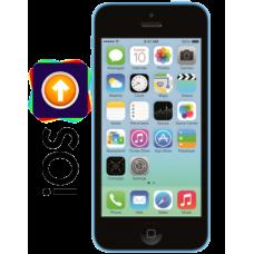 Обновление прошивки iPhone 5C
