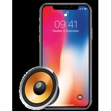 Ремонт слухового динамика iPhone X