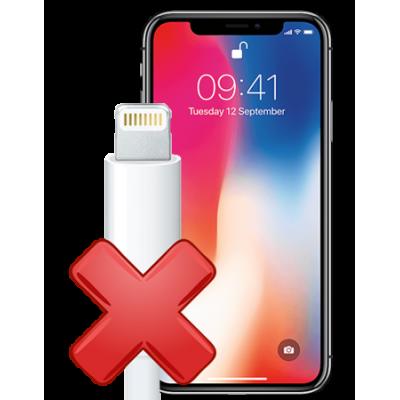 Замена порта зарядки iPhone X