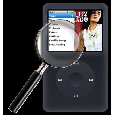Диагностика iPod classic