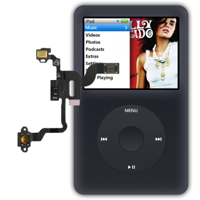 Ремонт или замена системного шлейфа iPod classic