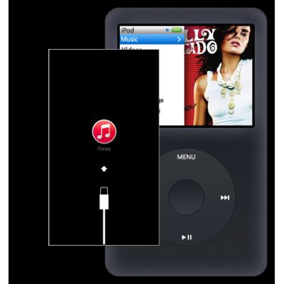 Восстановление iPod classic после системного сбоя