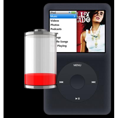 Замена аккумулятора iPod classic