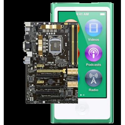 Замена материнской платы iPod nano