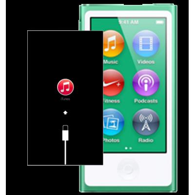 Восстановление iPod nano c после системного сбоя