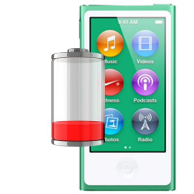 Замена аккумулятора iPod nano