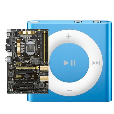 Замена материнской платы iPod shuffle